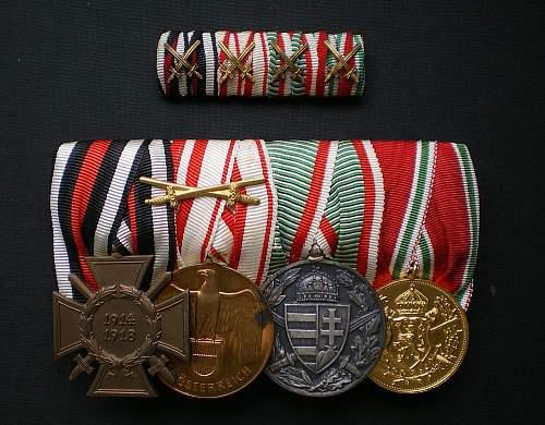 Help ID the medal ribbon