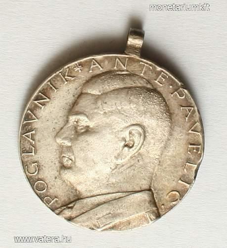 Croatian medal, original?