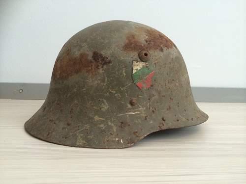 Bulgarian steel helmet, original?