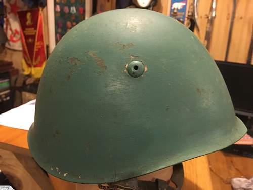 Is this a genuine WW2 Italian M33?