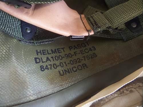 USAF used PASGT Helmet