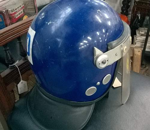 Argus Police Riot helmet