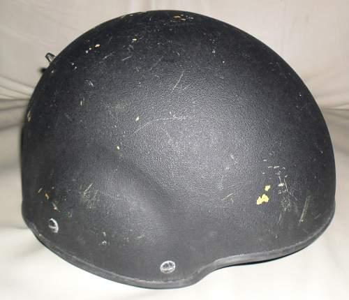 SF CTT Helmet Used By Royal Navy/ Marines