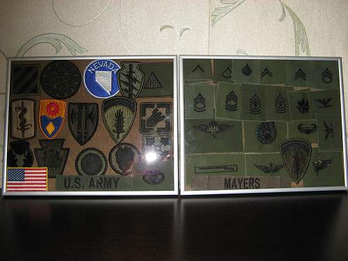 My PASGT Helmet collection and the other US stuff