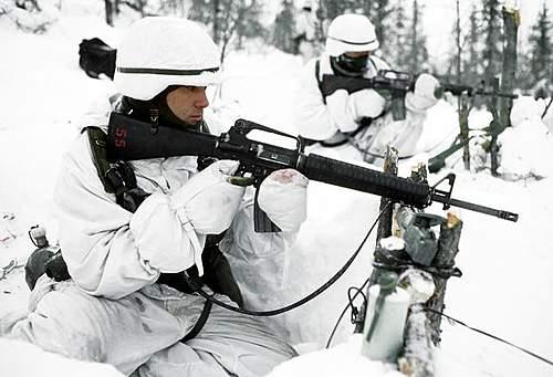 Winter camo PASGT