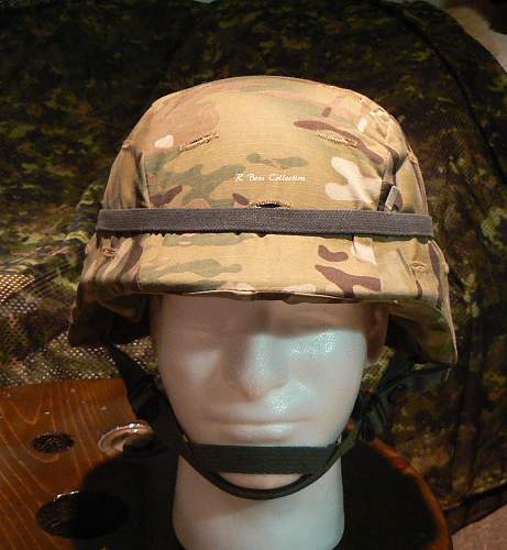 My New PASGT Helmet and Cover