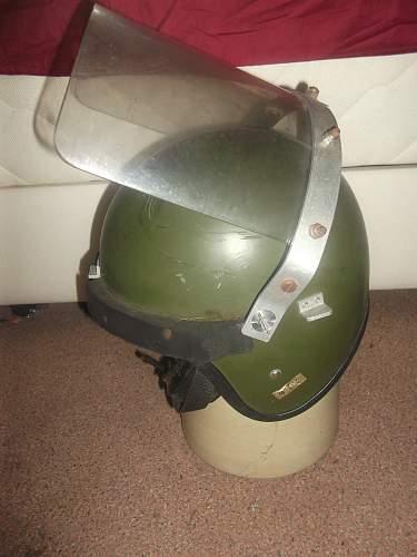 British Army Northern Ireland Riot Helmet