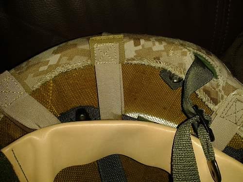 Usmc marpat cover genuine??