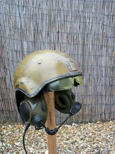 british crewman helmet