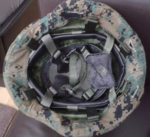 My new US Marines Gentex LWH 1st type.