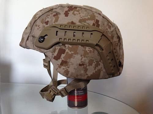 MSA Marsoc USMC Helmet.
