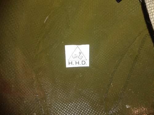 Iraqi M80: H.H.D. sticker?