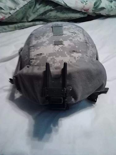 one of 8 ACH Mich helmets I own