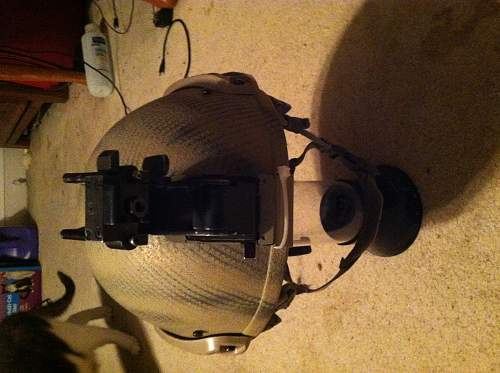 my new project, turning a CVC kevlar tanker helmet into a ops core type helmet
