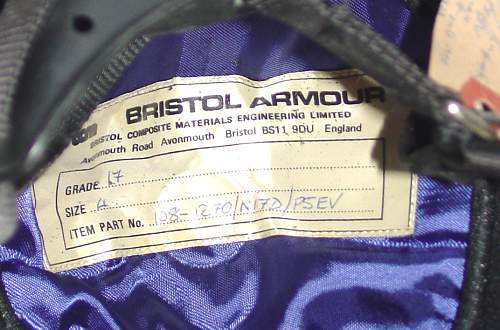 Click image for larger version.  Name:UK Bristol Composite Armour Grade 17 label.jpg Views:46 Size:200.0 KB ID:792069