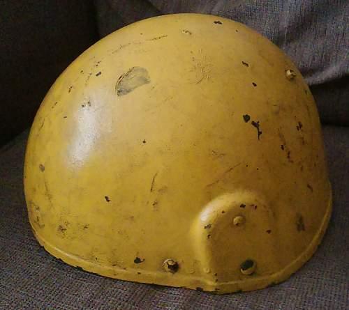 Yellow MK6 Helmet