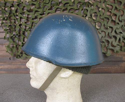YUGO M89 composite helmet used by Police Forces during Communist era