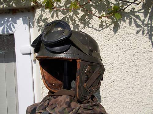 usa euro tank helmet
