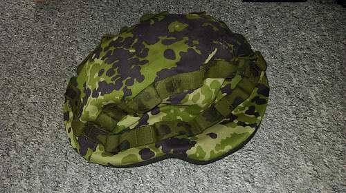 Danish M92 Gallet and M84 Flectarn covers