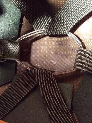 PASGT paratrooper helmet