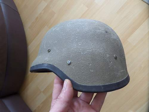 South African Defence Forces M87 helmet size large