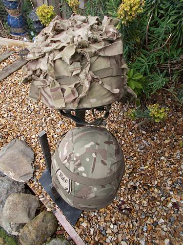 brit mk7 helmet cover's