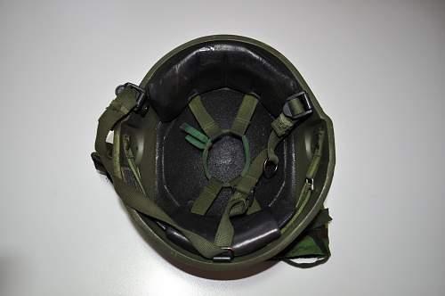 My last British Mk6 helmet