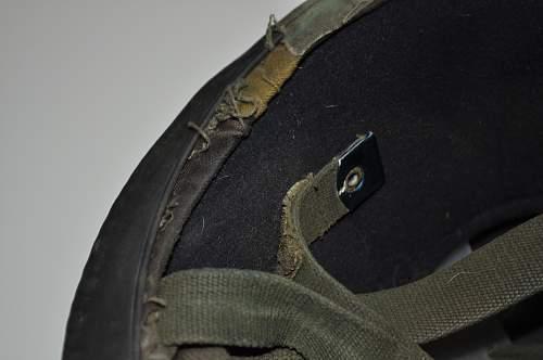 British Parachute helmet