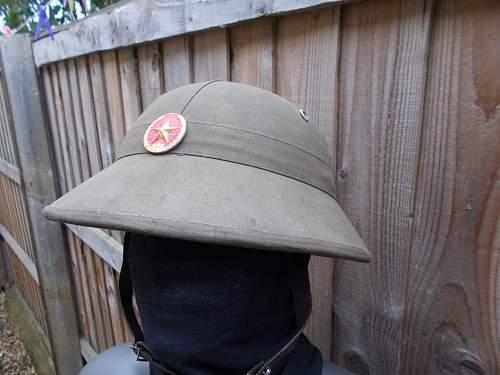 vietnamese sun helmet