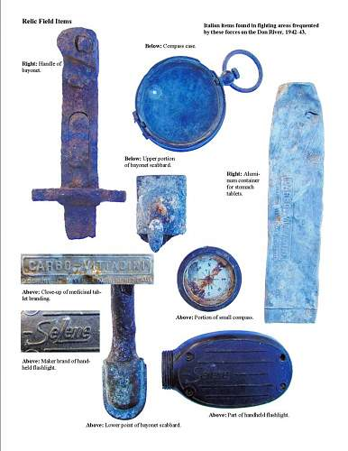 German and other Nation's Battlefield Relics