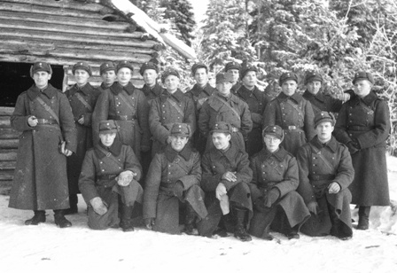 MY grandfather in JR24 on the Eastern front Karelia
