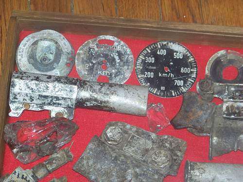 JU88 relics found in Wiesbaden Germany