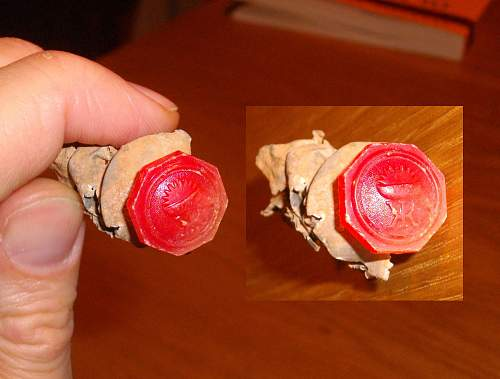 Unknown medicine/ointment tube german trench find WW2
