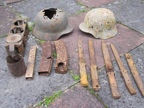Recently found relics from the Narwa Front !!