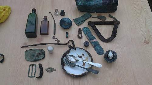 US Army Dump 2nd Dig Finds.