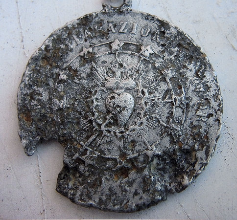 Miracle from a foxhole: soldier's dog tags found and returned