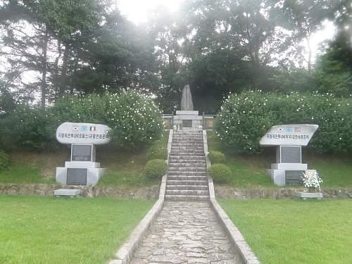 Korean war relics deteriorating