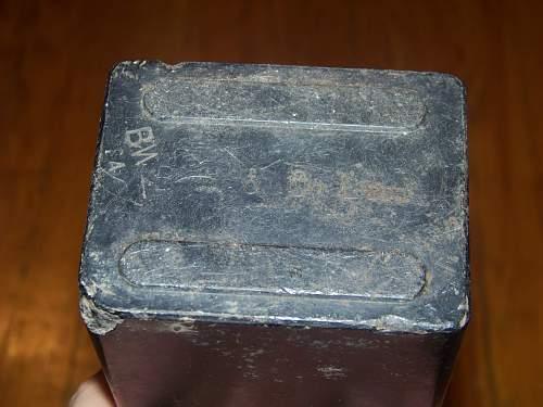 R.A.F relic found on Omaha beach