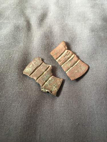 Brass piece of...what ?