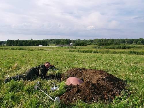 Hundinurk- Waiawara July 1-3 of 2010, 11 Kp Danemark positions