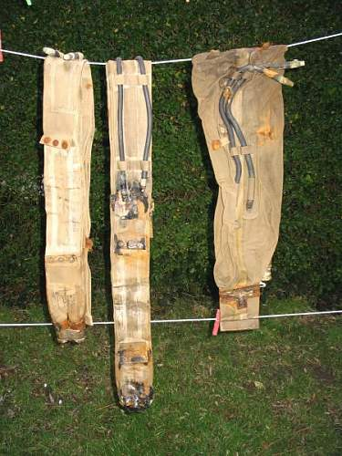 3 USN Lifebelts found on Utah Beach December 2007.JPG