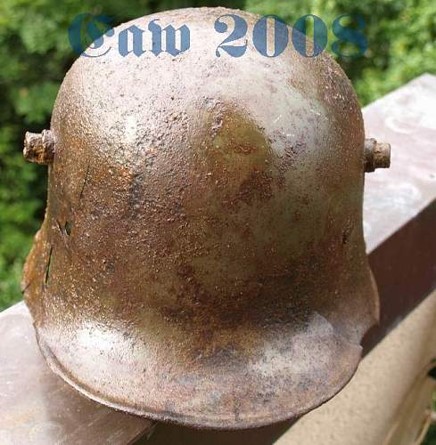 Relic helmets from europe