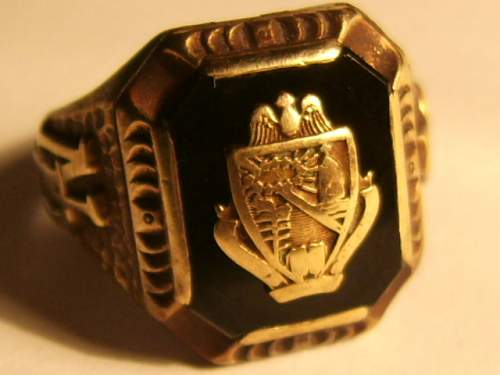 High School ring found at USSAF airbase