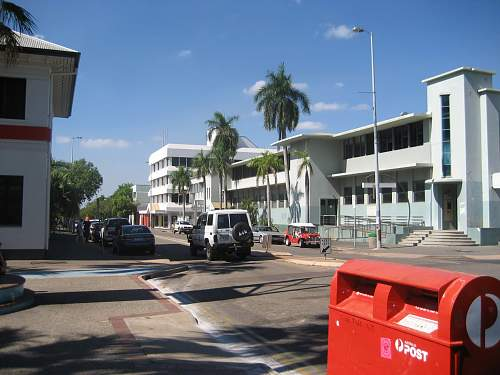 Darwin City then and now