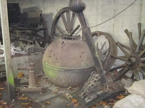 WW1 Battlefield Relics.