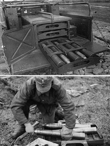 Need help!!German ammo rack?