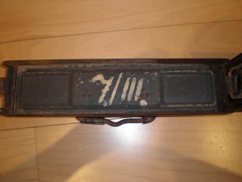 Patronenkasten 41 & WH buckle
