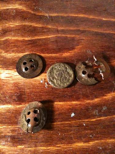 A Quick Hunt on a POW Camp a few finds