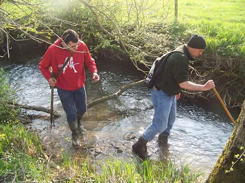 Meuse Argonne Springfield found in river