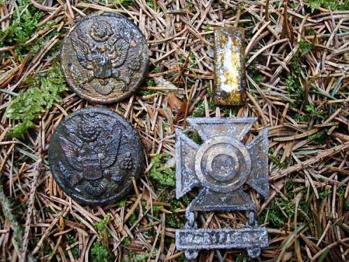 War relic's from the Hurtgenwald